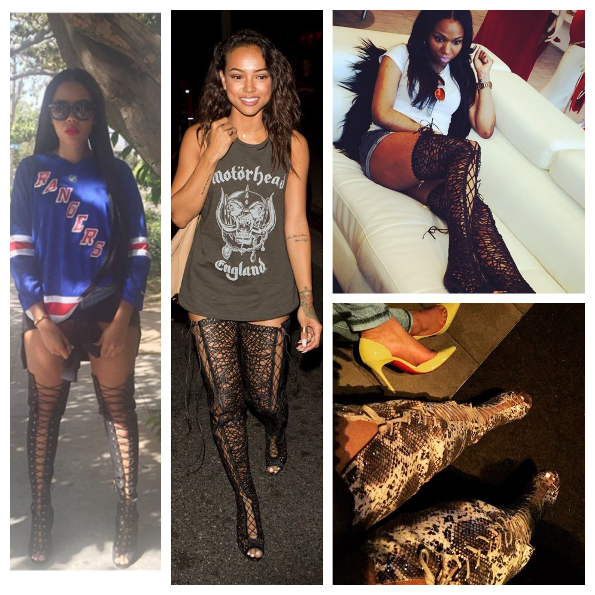 783b7da25f1 See how your fav fashionista s rock their thigh high boots