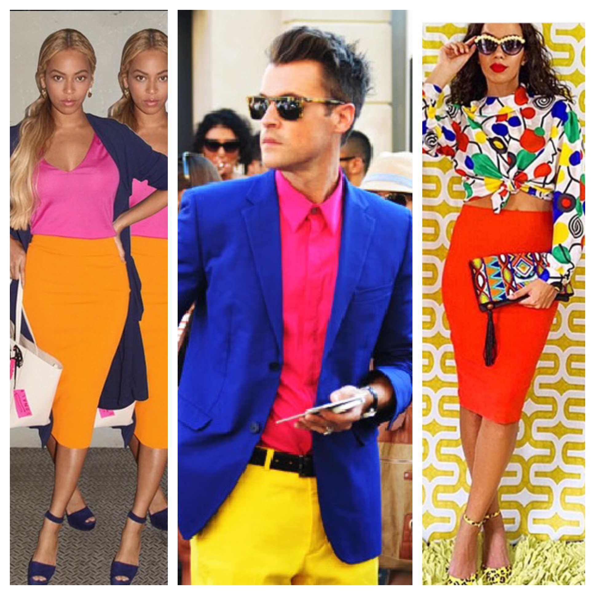 Watch Bright Colour Blocking Trend video